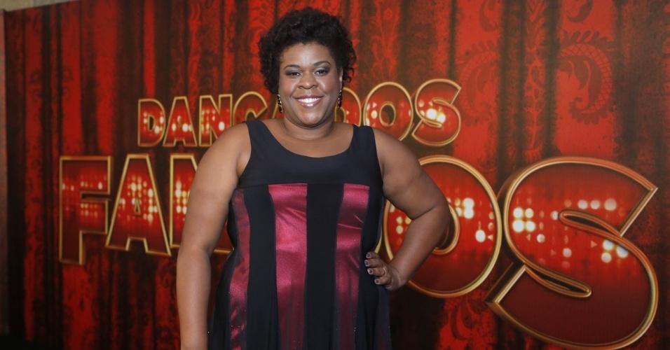 """19.mai.2013 - A atriz Cacau Protásio é uma das participantes da """"Danças dos Famosos 2013"""""""