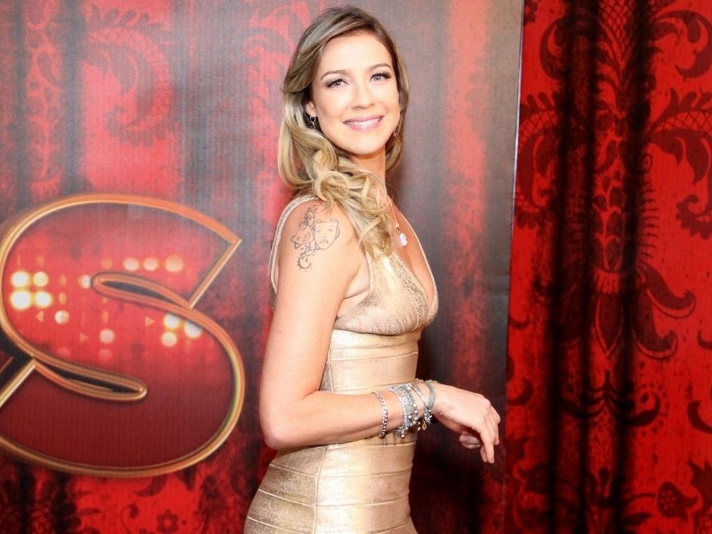 19.mai.2013 - A atriz Luana Piovani é uma das participantes da