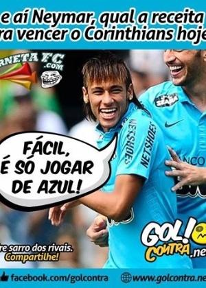 Corneta FC: Neymar dá a receita para vencer o Corinthians