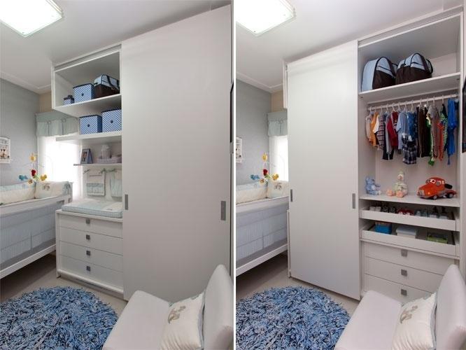 Veja ideias para aproveitar espaços pequenos para fazer o  ~ Quarto Planejado Infantil Pequeno