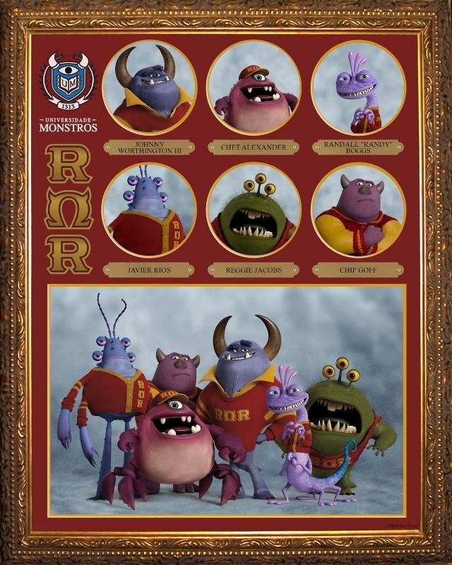 Poster da fraternidade Ruge Ômega Ruge (R?R)