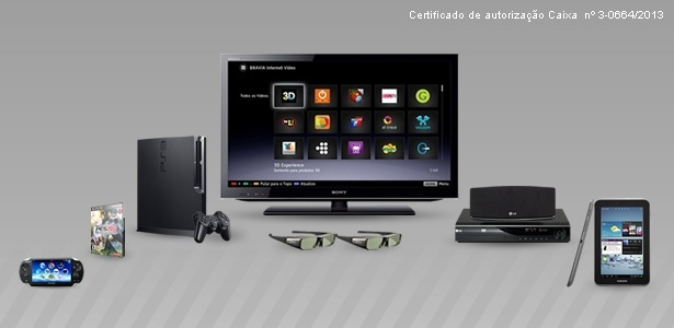 Vencedor do Bolão ganhará TV LED 3D, Playstation e PES 2013