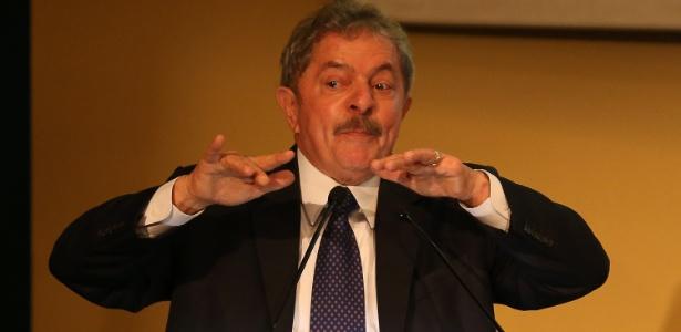 O ex-presidente Luiz Inácio Lula da Silva participa de seminário sobre as relações do Brasil com a África, realizado na sede da CNI (Confederação Nacional da Indústria), em Brasília