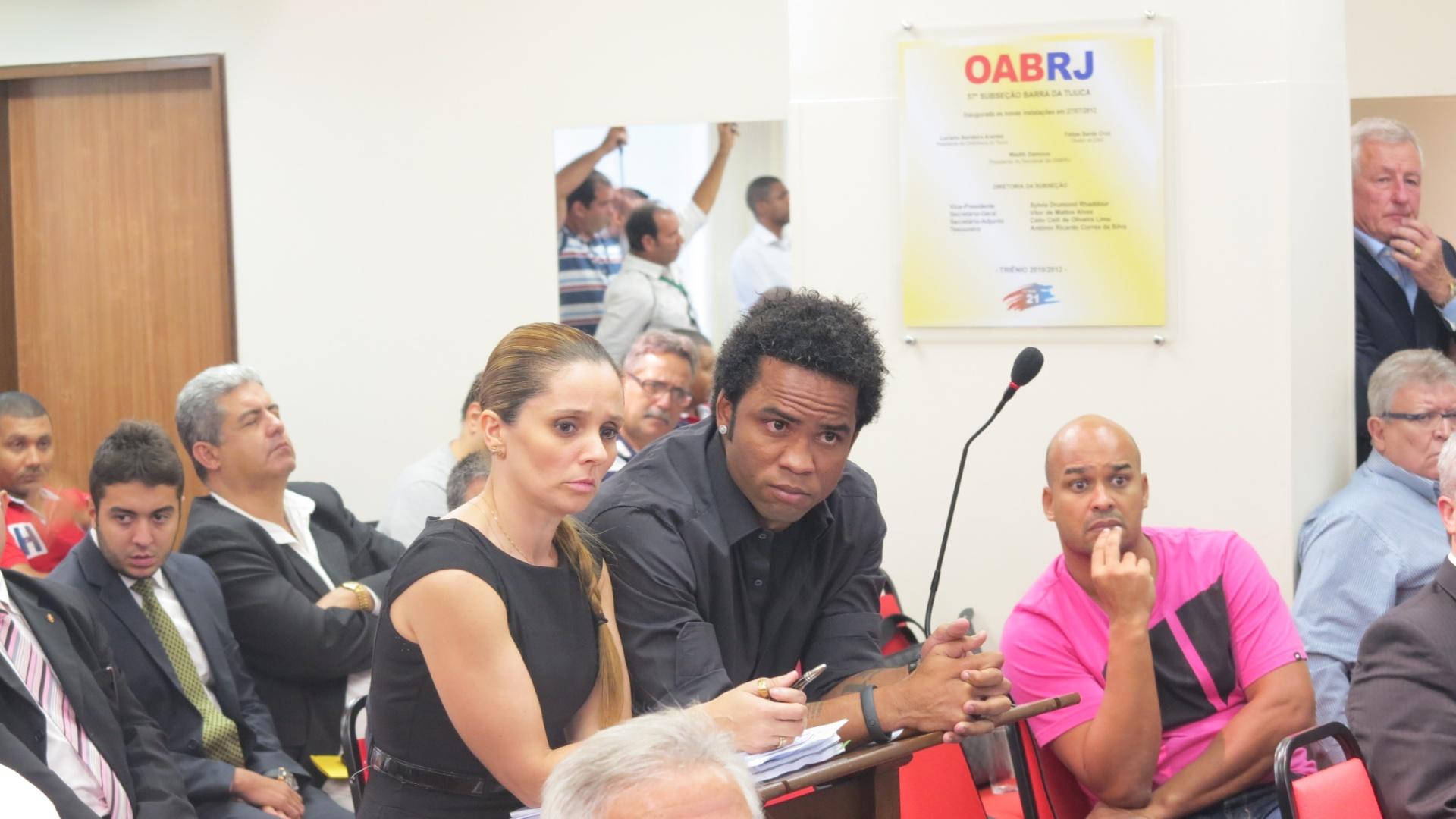 Carlos Alberto em julgamento nesta quarta-feira em caso do doping