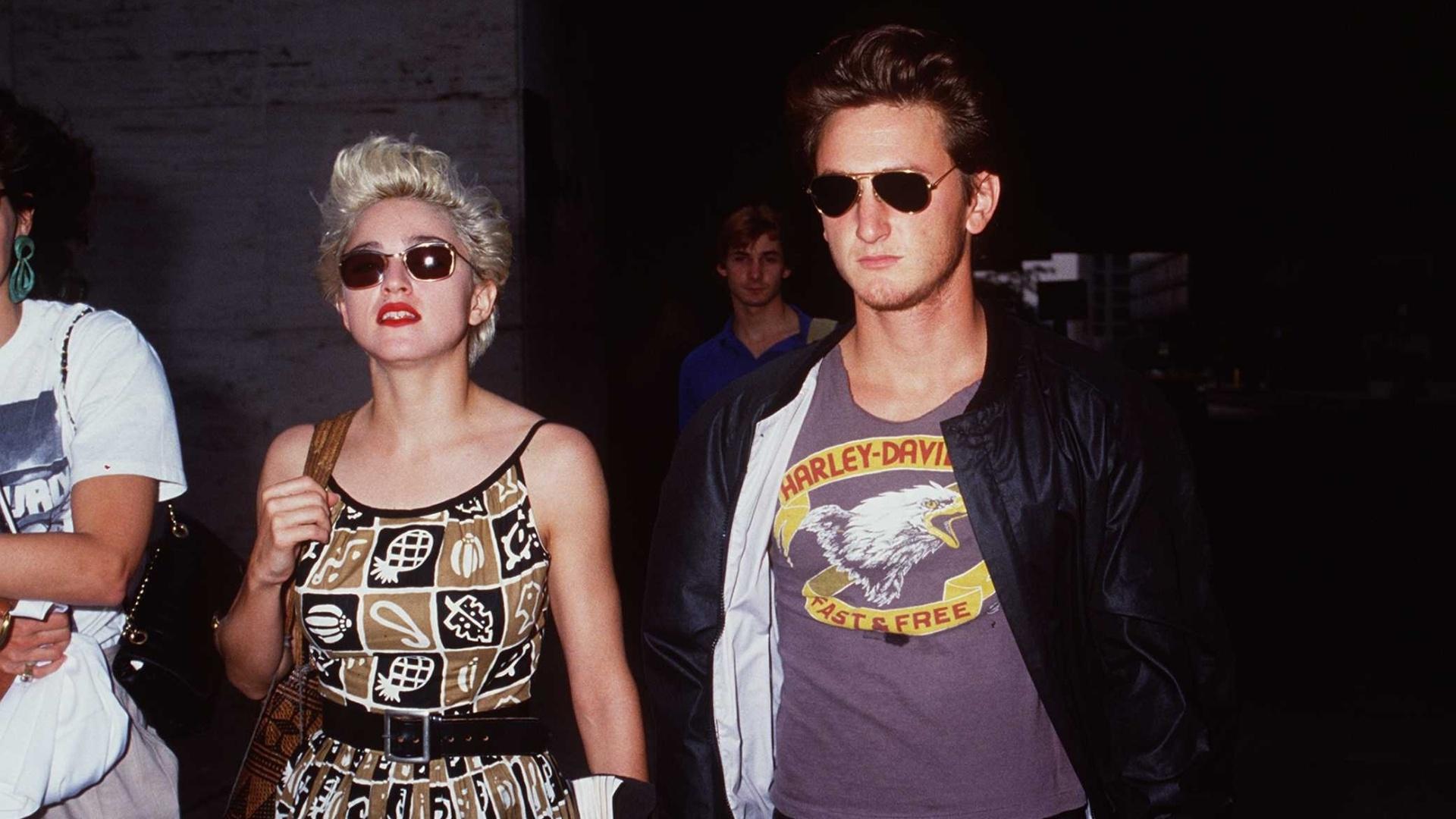 1986 - Madonna e Sean Penn