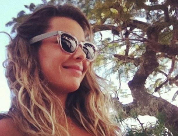 23.mai.2013 - Fernanda Souza mostra seu novo visual para a próxima temporada de