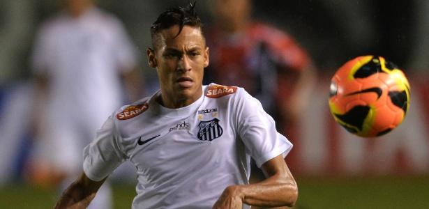 Neymar pode ter feito contra o Joinville um de seus últimos jogos pelo Santos