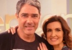 William Bonner visita F�tima Bernardes no