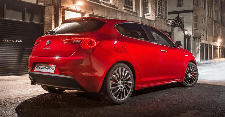 "Alfa Romeo Giulietta FF6 de ""Velozes e Furiosos 6"""