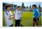 One Direction visita Real Madrid