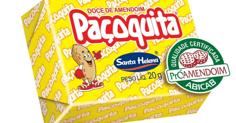 Como é feita a paçoca Paçoquita