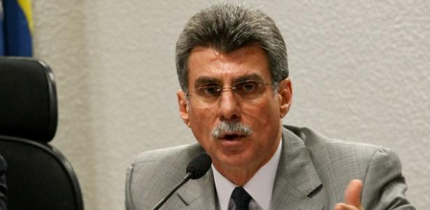 O senador Romero Jucá (PMDB-RR), que foi líder do governo Dilma no Senado