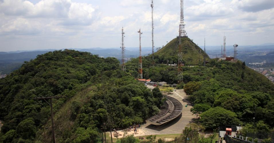 Parque Estadual do Jaraguá, onde fica o Pico do Jaraguá, em São Paulo (SP)