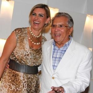 Carlos Alberto de Nóbrega e Ex-Miss Brasil Jacqueline Meirelles