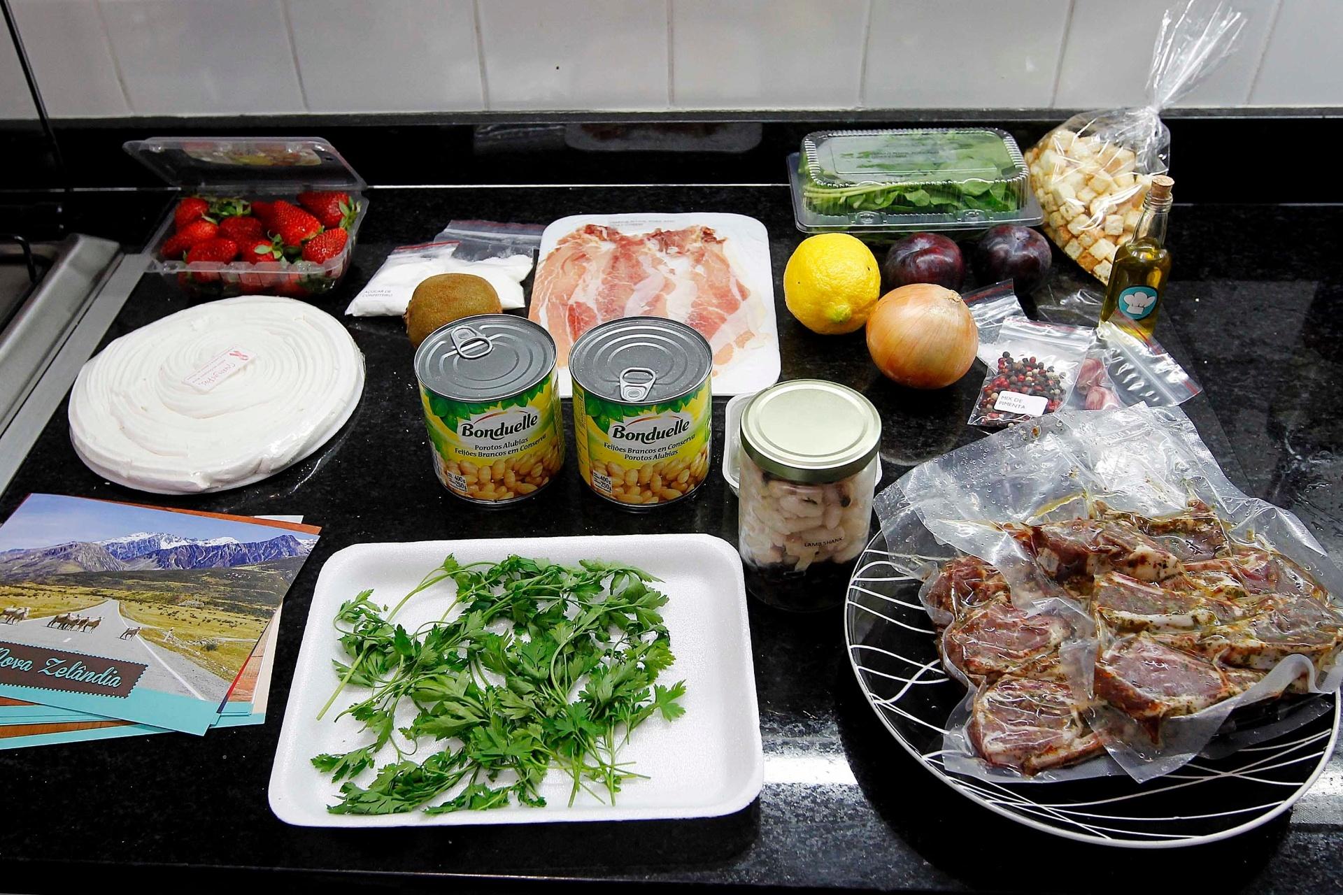 Empresas criam kits que ajudam a preparar comida de chef for Preparar comida