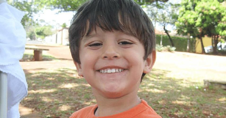 O menino Joaquim Ponte Marques, 3, que estava desaparecido desde a última terça-feira (5) em Ribeirão Preto (SP)