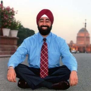 Ravi Singh, fundador da empresa de marketing político Election Mall, em foto de 2010