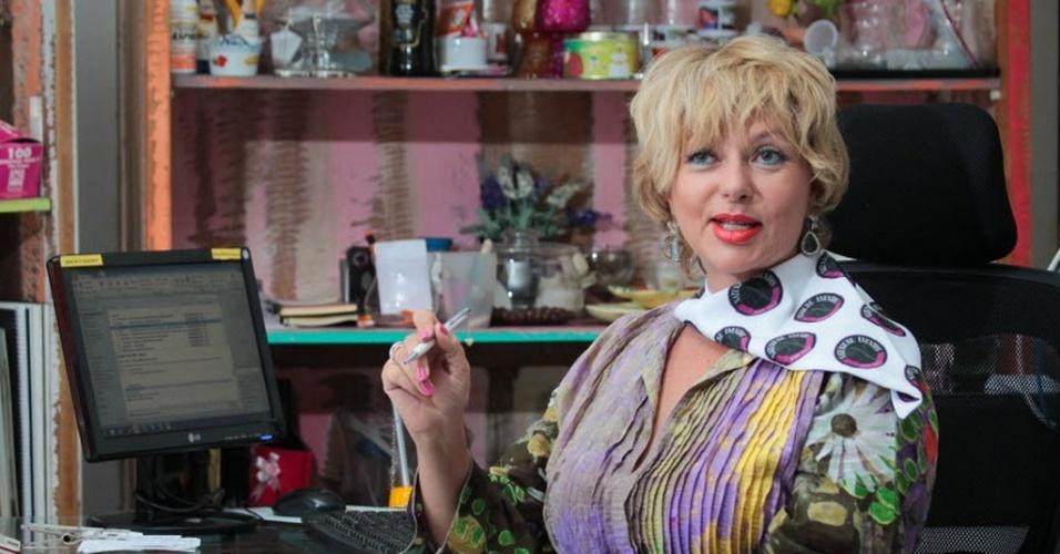 Edna Queiroz, empresaria, esta evitando ir ao shopping Vila Lobos por medo do movimento Rolezinho