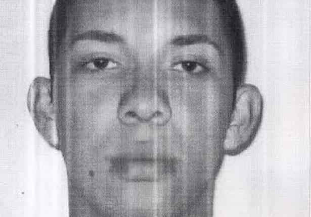 11.fev.2014 - A Polícia Civil do Rio de Janeiro divulgou uma foto do homem suspeito de ter arremessado um rojão contra o cinegrafista Santiago Andrade, que morreu nesta segunda-feira (10) por conta dos ferimentos causados pela explosão.