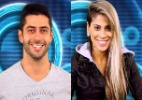 """Vanessa e Marcelo formam o 17º paredão do """"BBB14"""". Quem deve sair? - Reprodução TV Globo/Montagem UOL"""