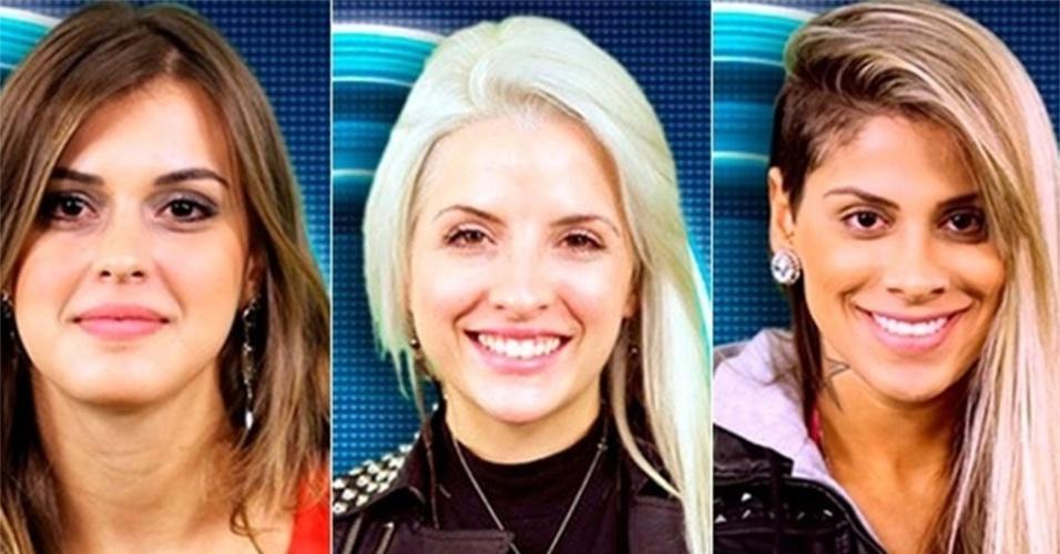 Angela, Clara e Vanessa estão na final