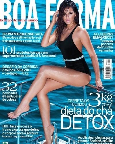 Bruna Marquezine - atriz - capa da Boa Forma de maio