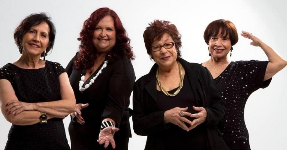Cybele (de óculos) e o Quarteto em Cy; mídia