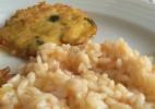 Pataniscas de Bacalhau com Arroz de Tomate