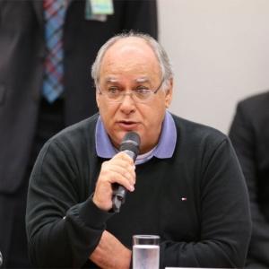 Ex-diretor da Petrobras Renato Duque, durante depoimento na CPI da Petrobras