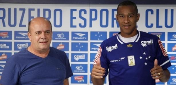 Contratado há duas semanas, Fabrício será titular do Cruzeiro pela primeira vez