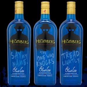 Vodca Heisenberg, produzida pela Blue Ice Vodka (EUA)