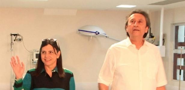 Roseana Sarney e Ricardo Murad, seu cunhado