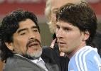 Maradona: adeus de Messi à seleção foi