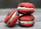 Sanduíche de Cookie Red Velvet