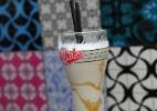 Mlik-shake de tapioca com calda de cumaru
