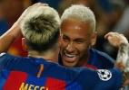 Nem faltas são divididas: como é a postura de Neymar na ausência de Messi - Albert Gea/Reuters