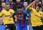 Neymar é único brasileiro indicado para a seleção da Uefa em 2016 - Lluis Gene/AFP