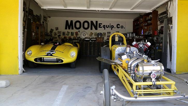 Dragster, competição e pista estão nas raízes da Mooneyes.