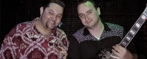 Marcio (esq.) e o parceiro Roger Gutierrez (FOTO: DIVULGAÇÃO)