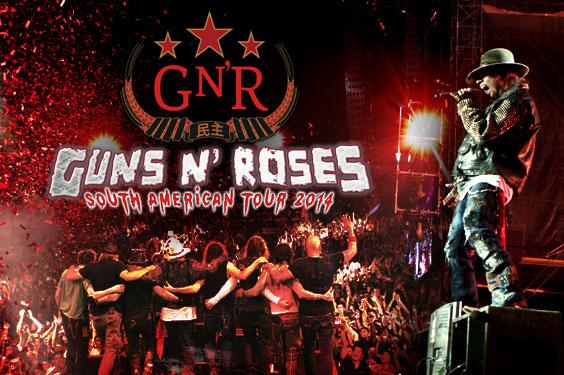 Ingressos Do Show De Guns N Roses Em Fortaleza Variam: Medo: Arremedo De Guns 'N Roses Vem Assombrar As Plateias