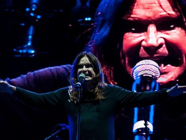 Ozzy Osbourne em show do Black Sabbath no Brasil (FOTO: LUCAS HALLEL/T4F)