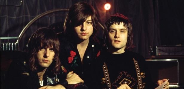 Emerson, Lake & Palmer, na sequência da esq. para a dir.; na foto, o trio em 1970 (FOTO: DIVULGAÇÃO)