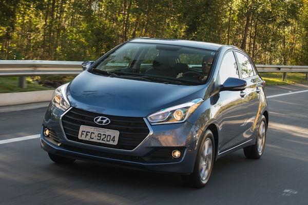 É da fábrica da Hyundai em Piracicaba (SP) que sai o modelo HB20
