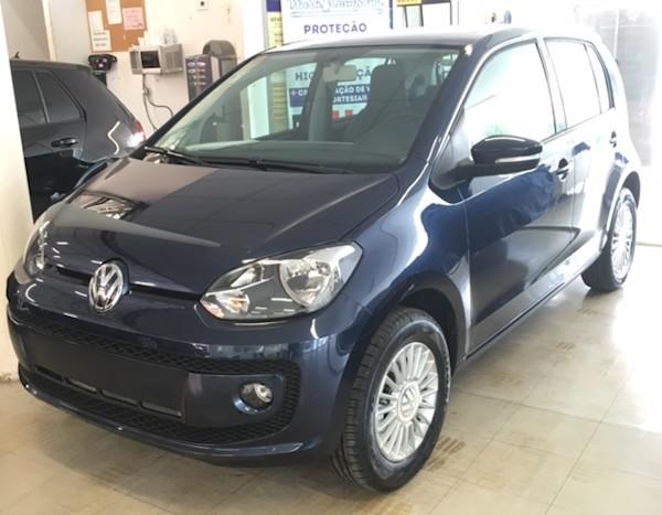 Meu Volkswagen up! passou pela primeira revisão neste sábado (22)
