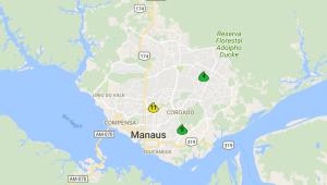 Mapa interativo do Cemaden mostra localização das estações
