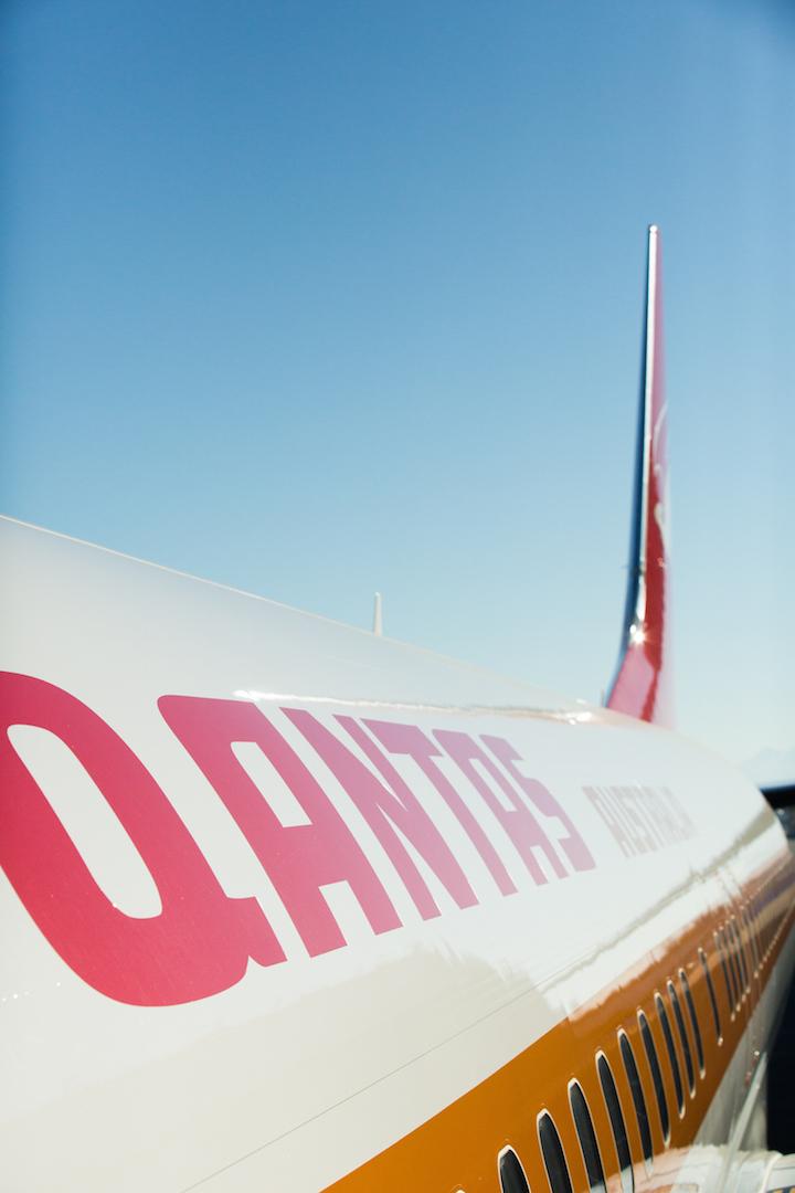 Qantas apresenta pintura retrô em seu 75˚ Boeing 737. (Divulgação)