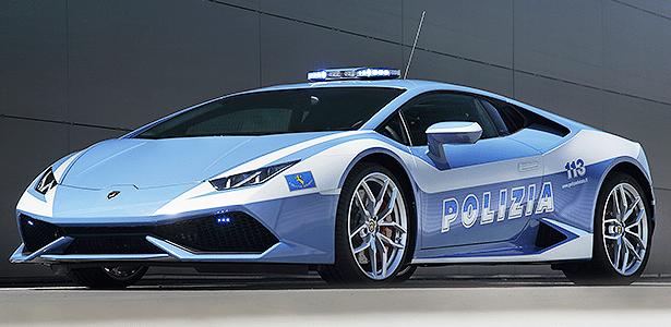 """Huracán Polizia é """"machinna"""" de 618 cv e R$ 530 mil"""