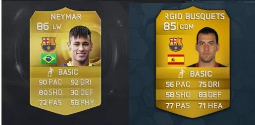 Alguém realmente acha que o Neymar é só isso mais jogador que o Busquets?