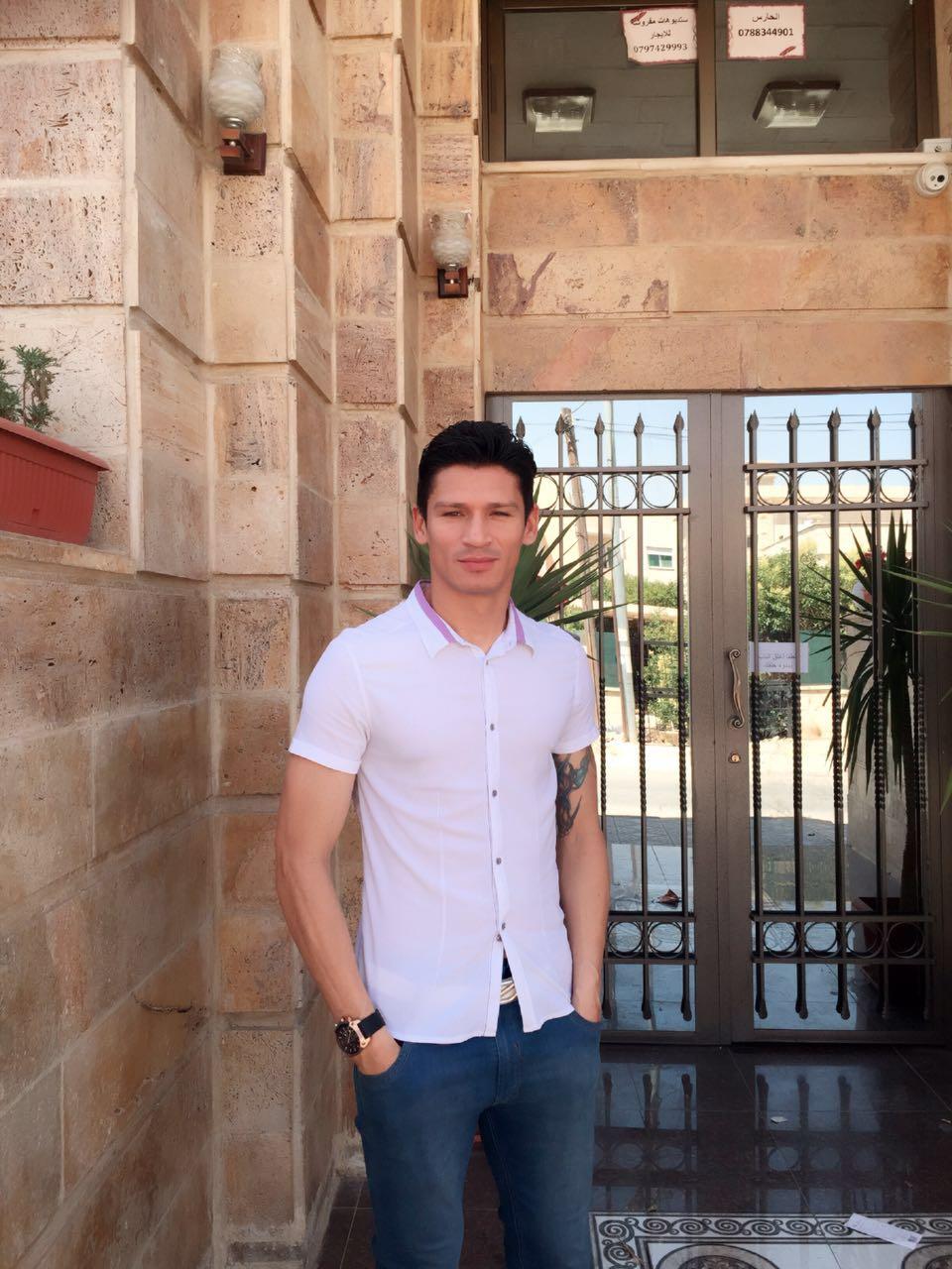 Kleyr ainda está em Amã Foto: arquivo pessoal