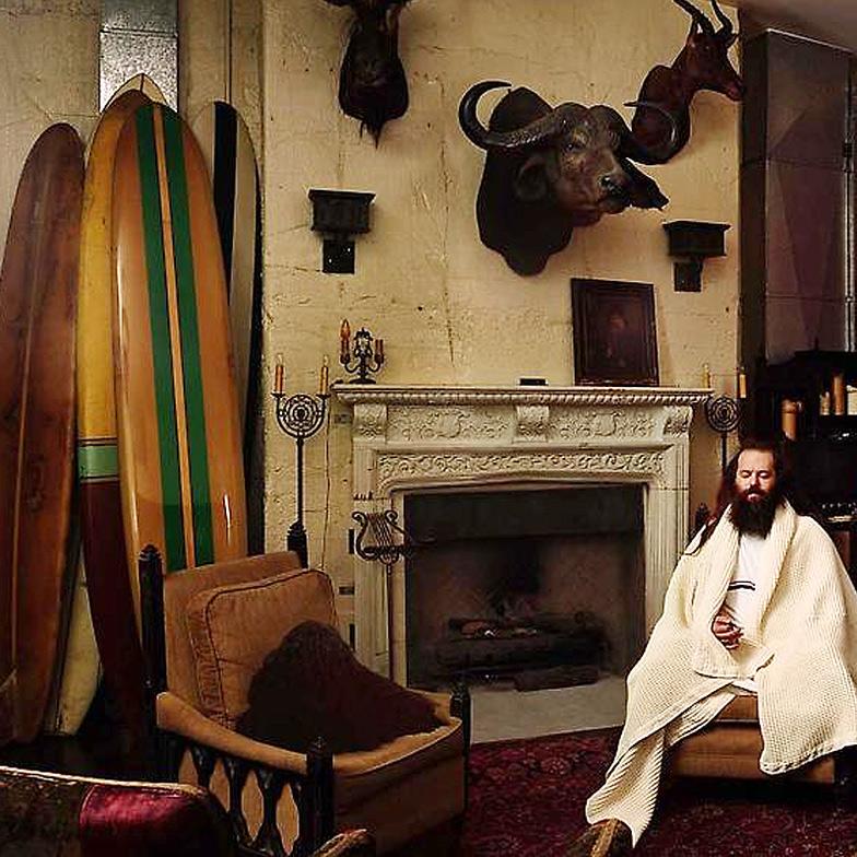 Rick Rubin em sua mansão